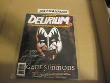 Delirium ( Full Moon Presents ) # 9 Uncirculated  signed by Gene Simmons ( KISS)