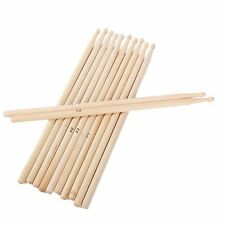 5A Music Rock Band Maple Wood Drum Stick Drumsticks Pack of 6 Pairs
