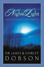 """""""Night Light"""" A Devotional for Couples by James and Shirley Dobson Hardcover PS3"""