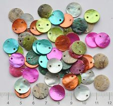50 X 13 mm Madre De Perla Botones Multicolor Mix 13 mm 53