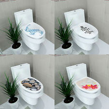 Toilet Seats Wall Stickers Bathroom Decoration Vinyl Mural Home Decor Color #3