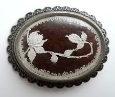Vintage/Antique HAND MADE LACE By Helen Evans in Exqusite Brooch