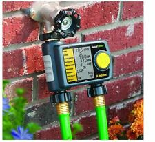 2-Zone Hose Timer Water Irrigation System Digital Automatic Watering Sprinkler