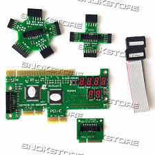 COMPLETE DESKTOP PC LAPTOP COMPUTER MOTHERBOARD DIAGNOSTIC REPAIR TOOLS PCIe KIT