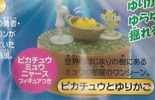 Tomy Pokemon AG Lucario and the Mystery of Mew Zukan Pikachu & Meowth gashapon