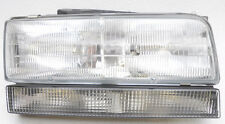 New Aftermarket Halogen Headlight Fits; 1992-93 Buick Lesabre 1991-93 Park Ave