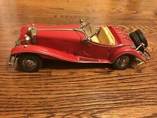 Mercedes 500 K Special Roadster 1935 Franklin Mint 1:24 Die cast with Papers