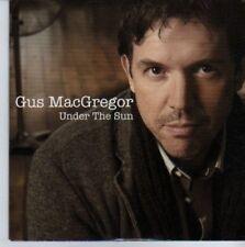 (DE322) Gus MacGregor, Under The Sun - 2011 DJ CD