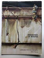 Derriere le miroir, Derriere le miroir 230, arte, Gérard Titus-Carmel,