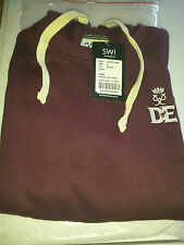 Duke of Edinburgh DofE Heritage Crew Hoodie Burgundy Small Jordan 16 on Back New