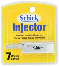 Schick Injector Single Edge Razor Blades - 7 Blades