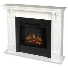 Real Flame 7100E-W Ashley Electric Fireplace- White NEW