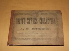 ANTIQUE BOOK 1865 A N JOHNSON UNITED STATES  COLLECTION OF CHURCH MUSIC