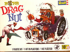 Revell Monogram Ed Roth Drag Nut Custom Car And Figure Model Kit