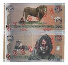 SOMALILAND 1000 SHILLINGS 2006 COMMERATIVE ISSUE PICK NEW SPECIMEN UNC