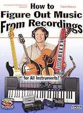 How to Figure Out Music from Recordings for Guitar, Piano, and All Instruments