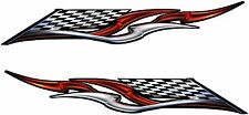 "Boat Car Truck Trailer Motorcycle Graphics Decal Vinyl Stickers Flag 25"" X 4"""