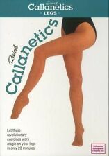 QUICK CALLANETICS LEGS TONING DVD NEW CALLAN PINCKNEY BARRE STYLE WORKOUT SEALED