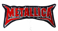METALLICA Embroidered Rock Band Iron On or Sew On Patch UK SELLER Patches