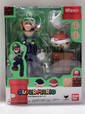 New Bandai S.H. Figuarts Nintendo Super Mario LUIGI action figure shf will bros