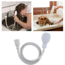 Hair Dog Pet Shower Spray Hose Bath Tub Sink Faucet Attachment Washing Indoors