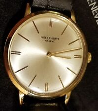 Patek Philippe 18k Yellow Gold 3468 With Papers