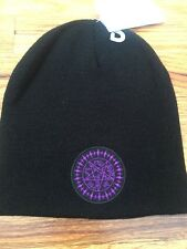 NWT Anime Black Butler Purple Pentagram Knit Beanie Hat Cap