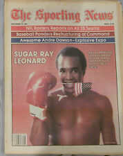SUGAR RAY LEONARD 1981 Sporting News No Label