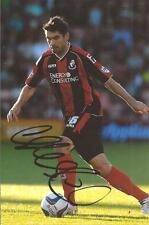 BOURNEMOUTH * RICHARD HUGHES SIGNED 6x4 ACTION PHOTO+COA