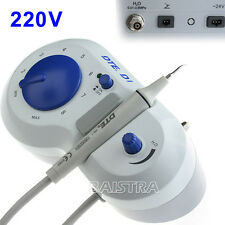Woodpecker Dental Ultrasonic Scaler Teeth Cleaner DTE D1 220V & 5 Pcs Tips New