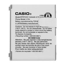 NEW OEM CASIO G'ZONE C751 RAVINE BTR751B BTR751 ORIGINAL BATTERY