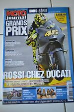 MOTO JOURNAL HS 2912 HORS-SERIE ★ SPECIAL GRAND PRIX 2010 ★ LORENZO ROSSI SPIES