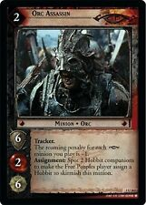 LoTR TCG FoTR Fellowship Of The Ring Orc Assassin FOIL 1U262