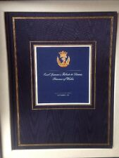 Earl Spencer's Tribute Book Signed Full Eulogy Princess Diana 1997 Funeral