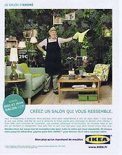 PUBLICITE ADVERTISING 094 2009 IKEA créez un salon qui vous ressemble