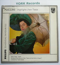GL 5663 - PUCCINI - Tosca Highlights - SERAFIN - Excellent Condition LP Record