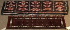 """(lot of 2) Tent band group, consisting of a Turkoman 4'3"""" x 11', to. Lot 6382"""