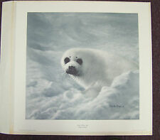 "Charles Frace Limited Edition Signed ""Baby Harp Seal"""