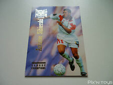 Carte Football Cards Premium 1995 Panini League Champions N°080 / Near mint