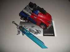 Hasbro Transformers WFC Generations Cybertronian Optimus Prime w Dr. Wu Sword bl