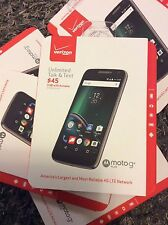 NEW VERIZON MOTO G4 PLAY 4G LTE 16GB 8MP ANDROID MARSHMALLOW 6.0.1 SMARTPHONE