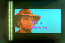 ELVIS PRESLEY AS COWBOY WITH HAT CHARRO OPENING CREDIT ORIGINAL PHOTO CANDID