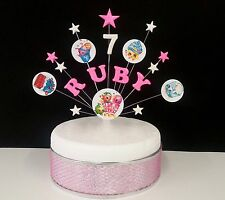 Shopkins, star Birthday/ Celebration Cake Topper , personalised any name and age