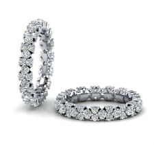 1.40 carat Round Brilliant Cut Diamonds Full Eternity Ring in White Gold