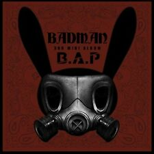 B.A.P (BAP) 3rd Mini Album [BADMAN] CD + Booklet + Photocard Sealed Music CD