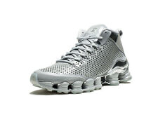 2015 Nike Shox TLX Mid SP SZ 9.5 Silver Reflect Chrome 3M TL Trainer 677737-003