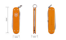 Victorinox Orange Ribbed Alox Swiss Army Knife