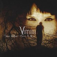 VOTUM - Time Must Have A Stop CD ** Excellent Condition **