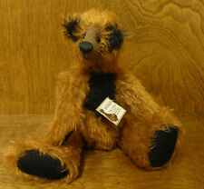 "Artist Exclusive FOXIE, 10"" mohair fully jointed LE We Be Bears by P Crosthwaite"