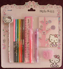 Hello Kitty school stationary